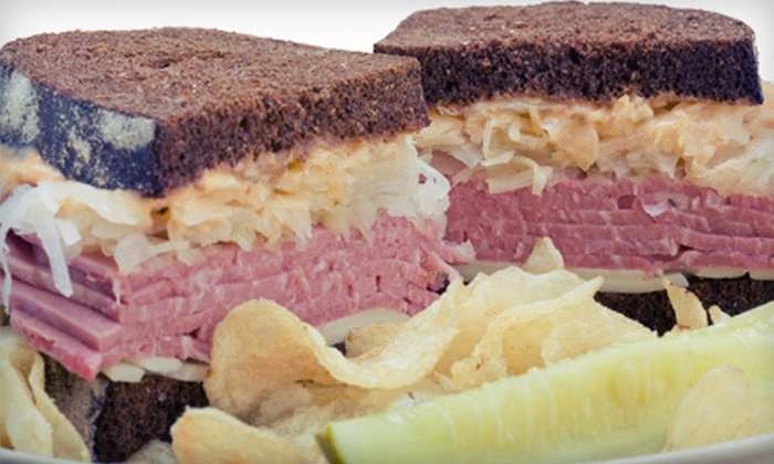 Frank's NY Deli - Asheville: $9 for $18 Worth of Sandwiches, Chips, and Drinks at Frank's NY Deli in Arden