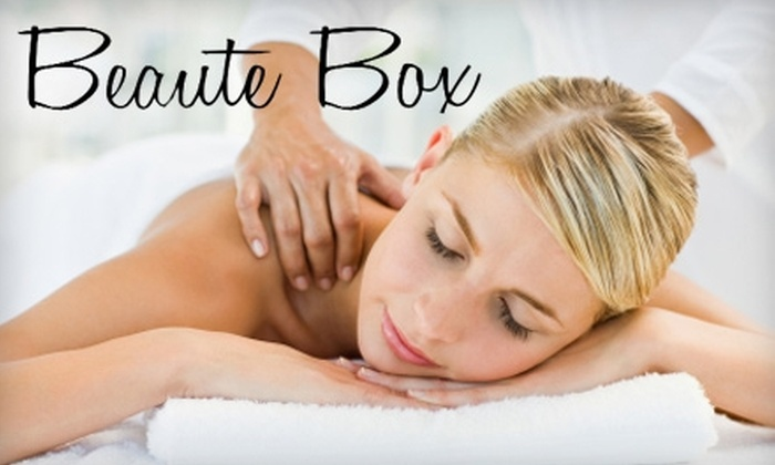 Beaute Box - Dayton: $25 for a Manicure and Pedicure ($55 Value) or $35 for a One-Hour Massage ($75 Value) from Beaute Box
