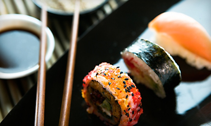 Singapore's Grill and Sushi Bar - New London: $12 for $24 Worth of Sushi and Singaporean Specialties at Singapore's Grill and Sushi Bar in New London