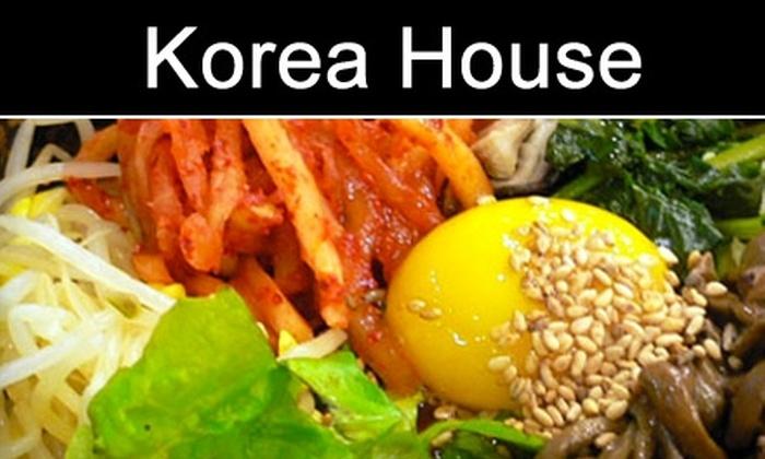 Korea House - Santa Clara: $10 for $20 Worth of Fare at Korea House