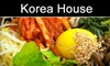 Korea House Restaurant - Santa Clara: $10 for $20 Worth of Fare at Korea House