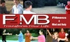 Fitness 4 Mind and Body - Multiple Locations: $49 for One Month of Fitness Boot Camp from Fitness 4 Mind and Body. Choose from Total-Body Fitness, Sports Boot Camp, and Parent-Youth Camp ($149 Value)