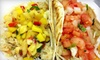 Monon Food Company - Broad Ripple: Gourmet Tacos and Soft Drinks for Two or Four at Monon Food Company (Up to 57% Off)
