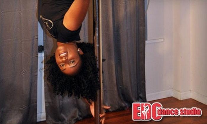 Exotic Dance Central - Midtown South Central: $45 for Five Drop-In Classes at Exotic Dance Central (Up to $125 Value)