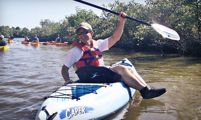 Marine Discovery Center - Daytona Beach : $30 for a Guided Kayak Eco Tour for Two from Marine Discovery Center (Up to $60 Value)