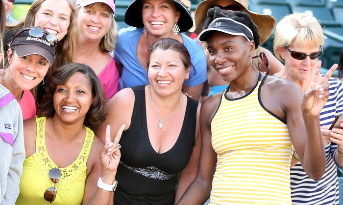 women's tennis tournament - volvo car open | groupon