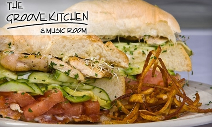 The Groove Kitchen and Music Room - Preston Centre: $15 for $30 Worth of Contemporary Cuisine at The Groove Kitchen and Music Room
