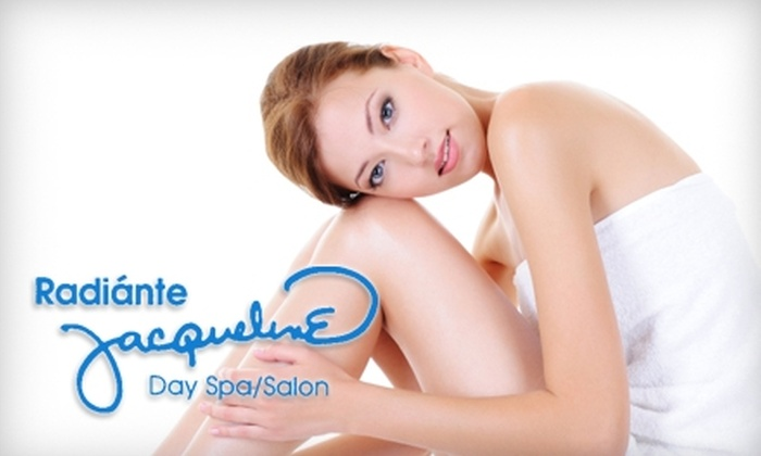 Radiante Jacqueline Day Spa - Southeast Pensacola: $45 for Swedish Massage and Aroma Hydrotherapy Treatment at Radiante Jaqueline Day Spa