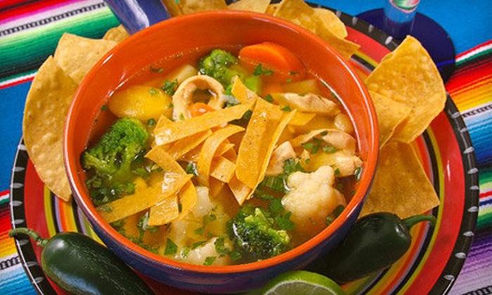 Costa Azul Mexican Restaurant - Fort Pierce: Mexican Fare for Two or Four at Costa Azul Mexican Restaurant in Fort Pierce (Half Off)