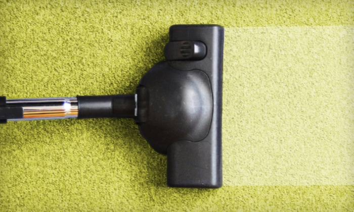 Rick's Knock-Out Carpet Cleaning - Downtown: $69 for Carpet Cleaning for Three Rooms and Hallway from Rick's Knock-Out Carpet Cleaning ($140 Value)