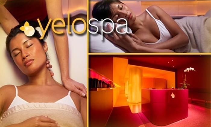 YeloSpa - Clinton: $115 for a Massage, Facial and Nap at YeloSpa ($239 Value)
