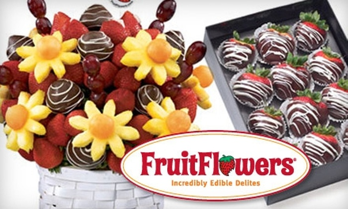 FruitFlowers Incredibly Edible Delites - Oakland Park: $25 for $50 Worth of Fruit Baskets and More at FruitFlowers Incredibly Edible Delites