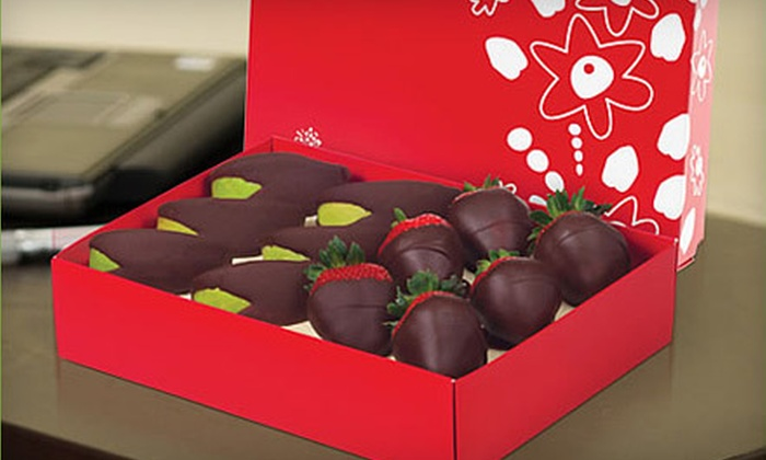 Edible Arrangements - Walnut Grove - Shelby Farms PD: Box of Chocolate-Dipped Strawberries or Two Kinds of Chocolate-Dipped Fruits from Edible Arrangements (Up to 52% Off)