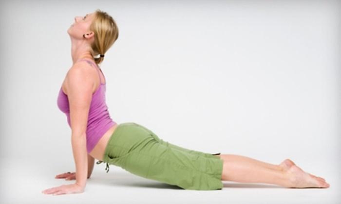 Bhakti Barn Yoga - Millburn: $35 for One Month of Unlimited Classes at Bhakti Barn Yoga in Millburn ($108 Value)