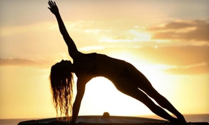 Body of Work Yoga Studios - Downtown Springfield: $24 for 24 Yoga Classes at Body of Work Yoga Studios ($228 Value)