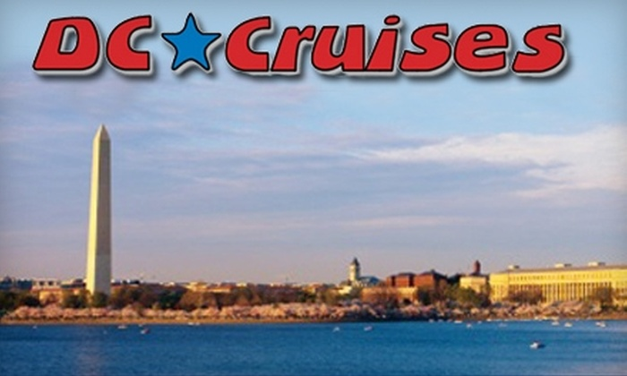 DC Cruises - Southwest Washington: $22 for One Ticket for a Fondue Dessert Cruise from DC Cruises ($45 Value)