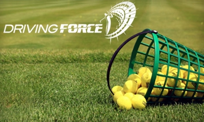 Driving Force - Broomfield Industrial Park: $30 for a 3-Punch Pass to Driving Force Golf in Broomfield ($60 Value)