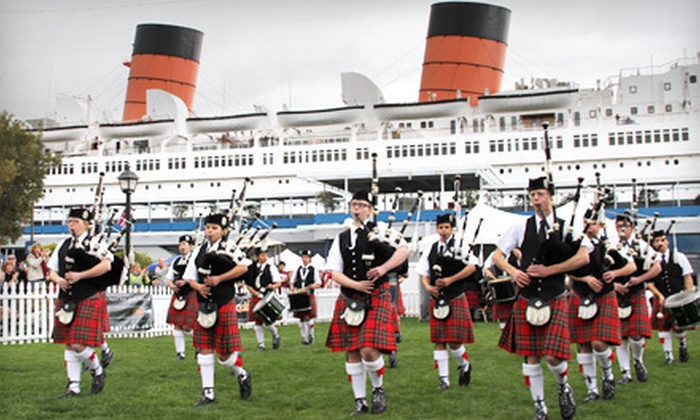 The Queen Mary - Long Beach-Lakewood: $16 for One-Day Admission to Scottish Festival and One-Day Pass to Explore The Queen Mary on Return Visit (Up to $33 Value)