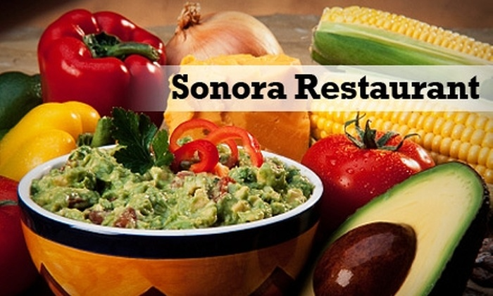 Sonora Restaurant - Fullerton: $7 for $15 Worth of Authentic Mexican Fare and Drinks at Sonora Restaurant