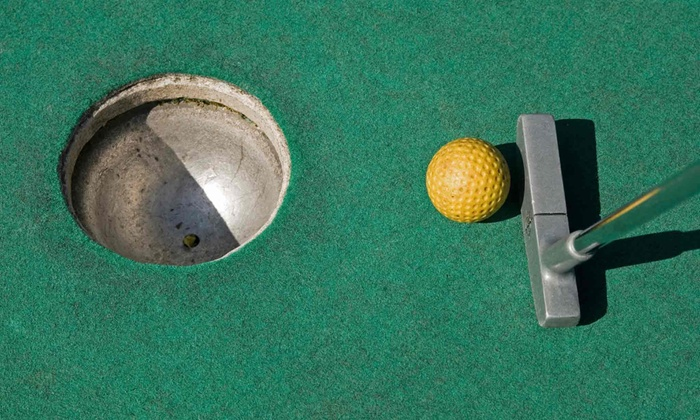 North Park Batting Range and Mini Golf - Batting Cages: Mini Golf and Batting Cage Package for Two or Four at North Park Batting Range and Mini Golf (50% Off)