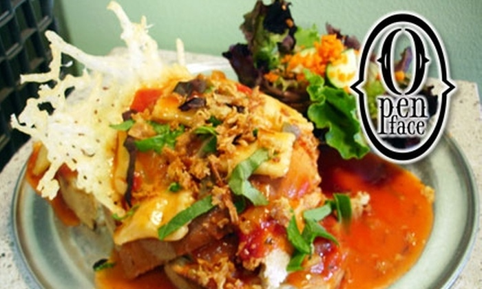 Open Face Sandwich Eatery - South Wedge: $6 for $12 Worth of Sandwiches and More at Open Face Sandwich Eatery