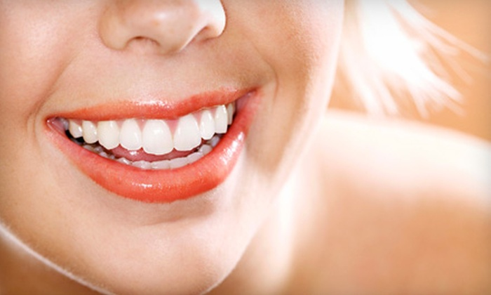 Baer Dental Designs - Aurora: Teeth-Whitening Session or Massage at Baer Dental Designs in Aurora. Three Options Available.