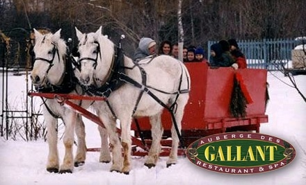 $50 Groupon to Auberge des Gallant Restaurant & Spa - Auberge des Gallant Restaurant & Spa in Ste-Marthe