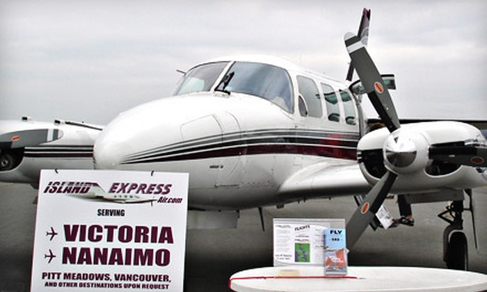 Island Express Air - South Poplar: $99 for a Two-Hour Flightseeing Tour from Island Express Air in Abbotsford ($281.78 Value)