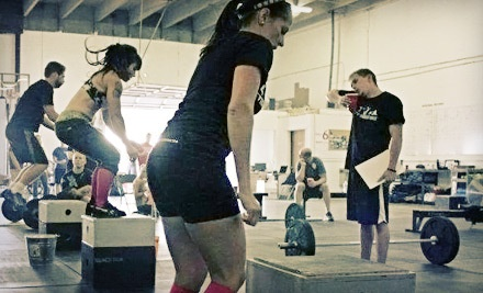 Punch Card Good for 10 Crossfit Classes (a $120 value) - Crossfit Pandora's Box in Colorado Springs