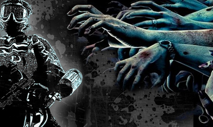 Battle Creek Paintball - Kingdom City: $15 for Admission to Zombie Hunt Including 50 Rounds of Paintballs for Two at Battle Creek Paintball ($30 Value)