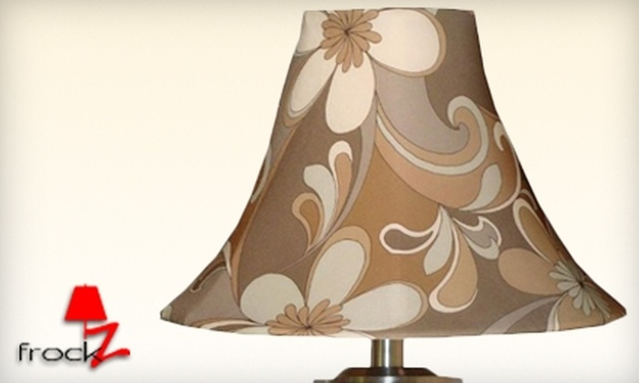 Frockz: $13 for $26 Worth of Lampshade Merchandise from Frockz