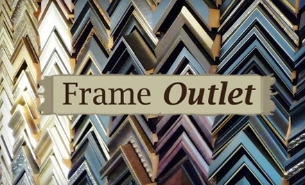 $100 Groupon to Frame Outlet - Frame Outlet in Lexington