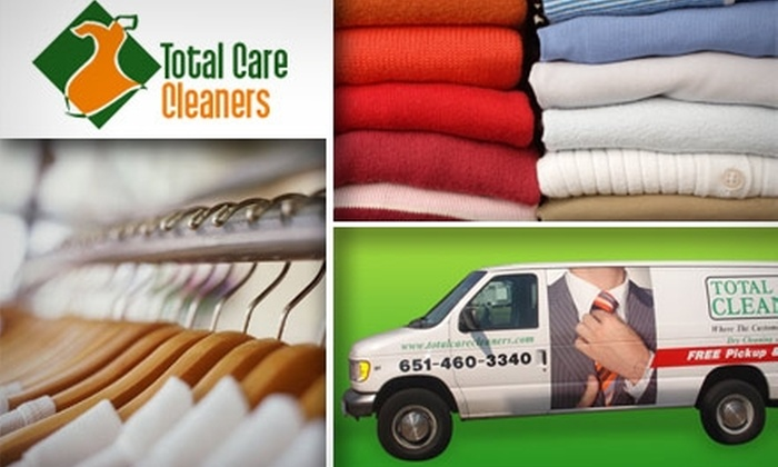 Total Care Cleaners - Multiple Locations: $10 for $25 Worth of Dry Cleaning Services from Total Care Cleaners