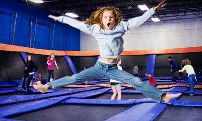 Sky Zone Columbus - Sky Zone - Columbus: Two or Four 60-Minute Open-Jump Visits or a Birthday Party at Sky Zone Columbus in Lewis Center (Up to 54% Off)