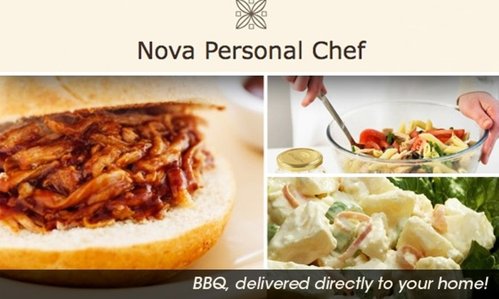 Nova Personal Chef - Washington DC: $130 for Barbeque Plus Sides for Up To 15 People from Nova Personal Chef ($225 Value)