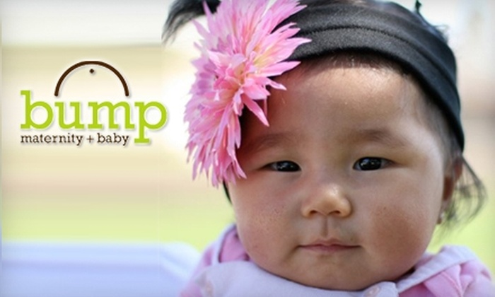 Bump Maternity + Baby - Walkerville: $25 for $50 Worth of Merchandise at Bump Maternity + Baby
