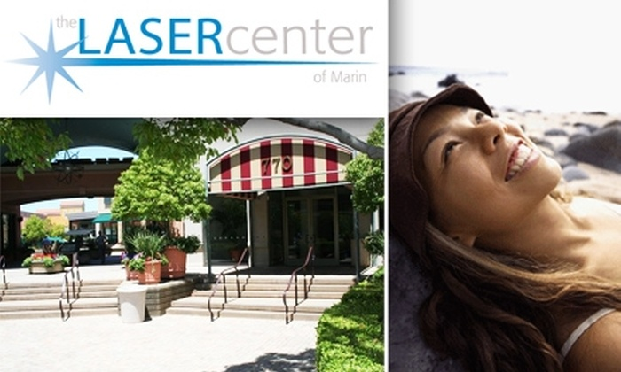 The Laser Center of Marin - Corte Madera: $185 for 3 Hair-Removal Sessions at The Laser Center of Marin