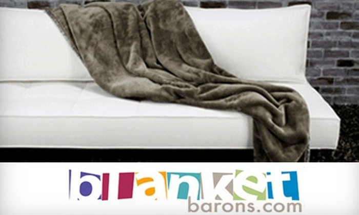 Blanket Barons: $25 for $50 Worth of Blankets, Throws, and Duvets Online from Blanket Barons