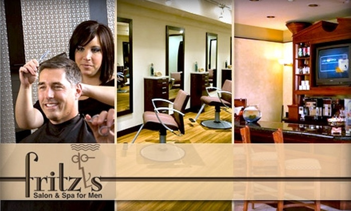 Fritz's Salon & Spa for Men - Louisville: $25 for $60 Worth of Services at Fritz's Salon & Spa for Men