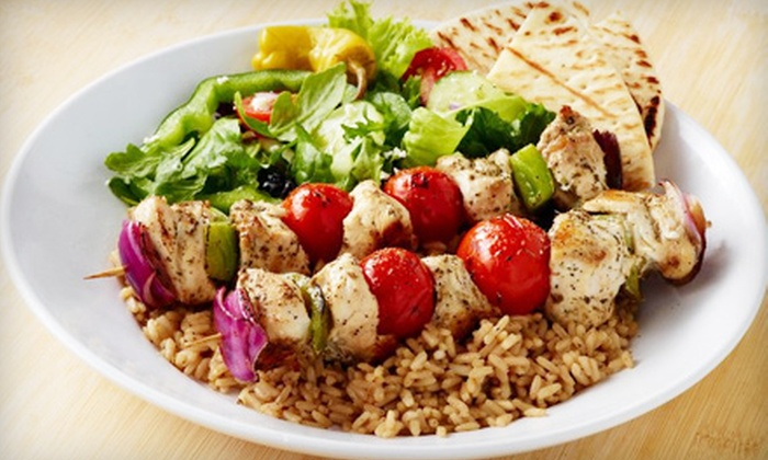 Zoës Kitchen - Multiple Locations: $10 for $20 Worth of Mediterranean-Inspired Fare at Zoës Kitchen