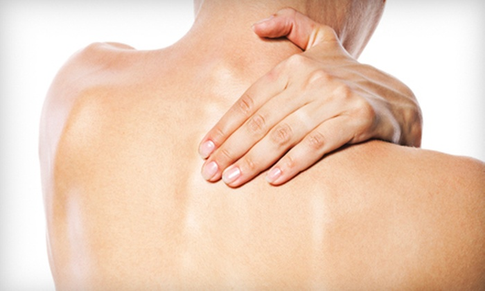 Hartter Chiropractic - East Avenue: $49 for Chiropractic-Exam Package with a Treatment and One-Hour Massage at Hartter Chiropractic ($180 Value)