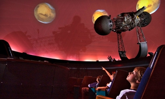 W.A. Gayle Planetarium - Highland Park: $8 for a Family Pass for Four to a Star Show at W.A. Gayle Planetarium (Up to $16 Value)