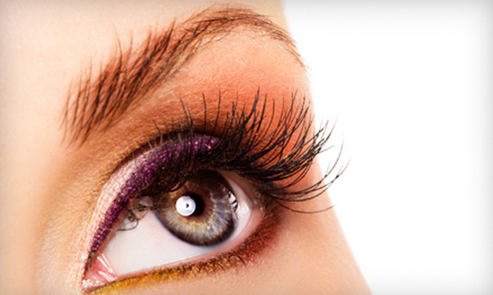 Salon 209 - Ocala: Permanent-Makeup Application for Top or Bottom Eyelids or Full Eyebrows at Salon 209 (Up to 72% Off)