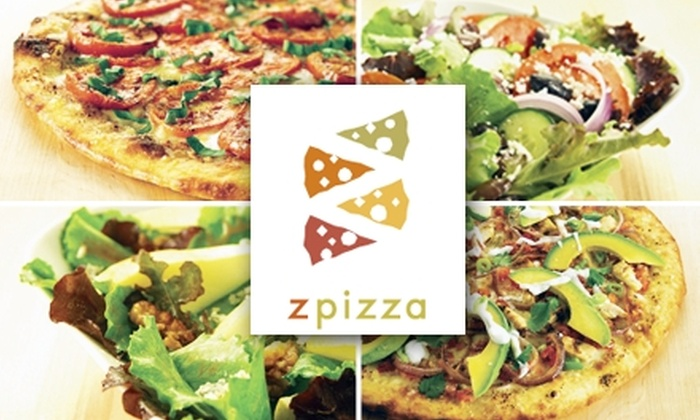 zpizza - Round Rock: $10 for $20 Worth of Gourmet Pizza and More at zpizza