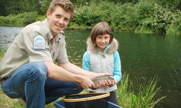 Fraser Valley Trout Hatchery Visitors Centre - South Poplar: $10 for a Learn to Fish Outing for Two at Fraser Valley Trout Hatchery Visitors Centre ($20 Value)