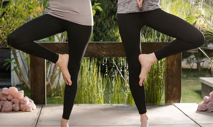 Women's Premium Organic Shaping Leggings by InTouch: $28.99 for Two Pairs of Women's InTouch Yoga Leggings in S/M or L/XL ($119.90 List Price). Free Shipping and Returns.