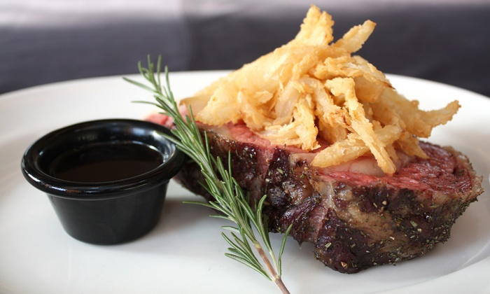 Old Stone Steakhouse - Belmont: Reservation Required $18 for $30 Worth of Steak-House Cuisine at Old Stone Steakhouse