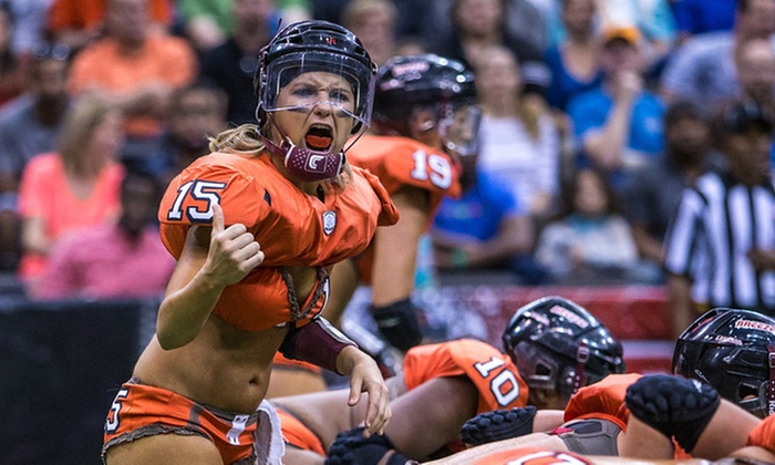 Jacksonville Breeze vs Toledo Crush - Jacksonville Veterans Memorial Arena: Jacksonville Breeze Legends Football League Game on Saturday, May 31, at 8 p.m. (Up to Half Off). Two Seating Options.