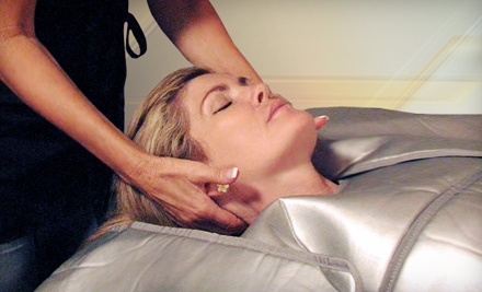 Infrared Body Wrap with Optional 30-Minute Mini Facial at SudaTonic (Up to 59% Off)