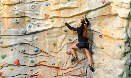 Rock Climbing Day Pass with Gear Hire for Two $25, Four $45 or Eight People $80 at Cliffhanger Up to $216 Value